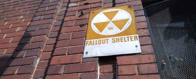 Sylvia Center Fallout Shelter Sign